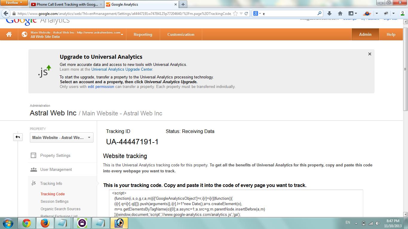 google-analytics分析