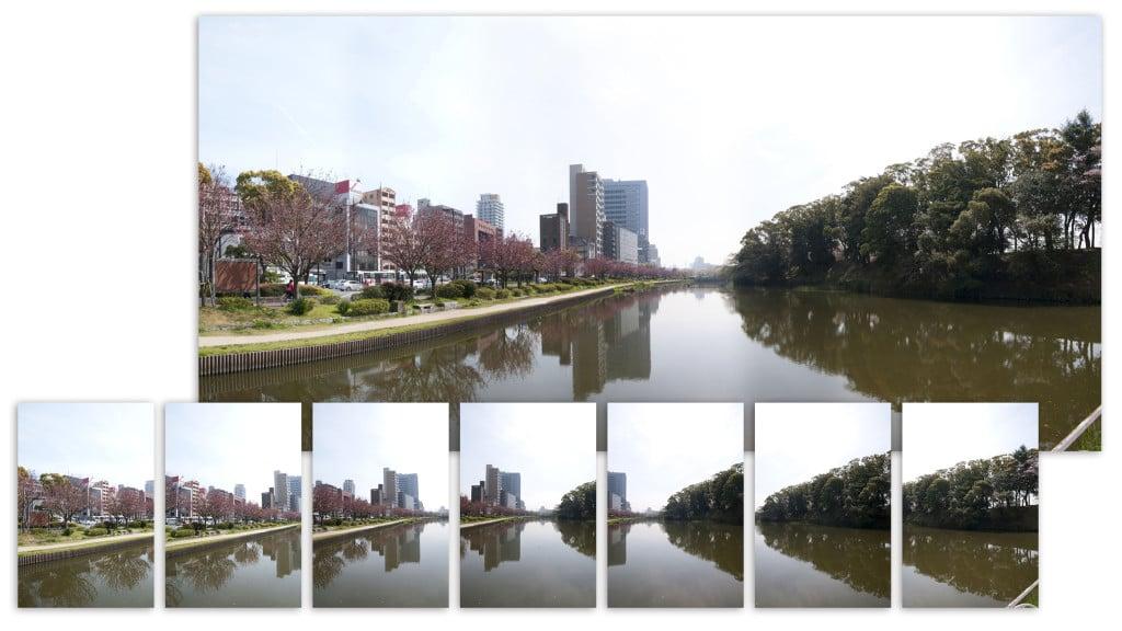 Photoshop教學-全景照合成