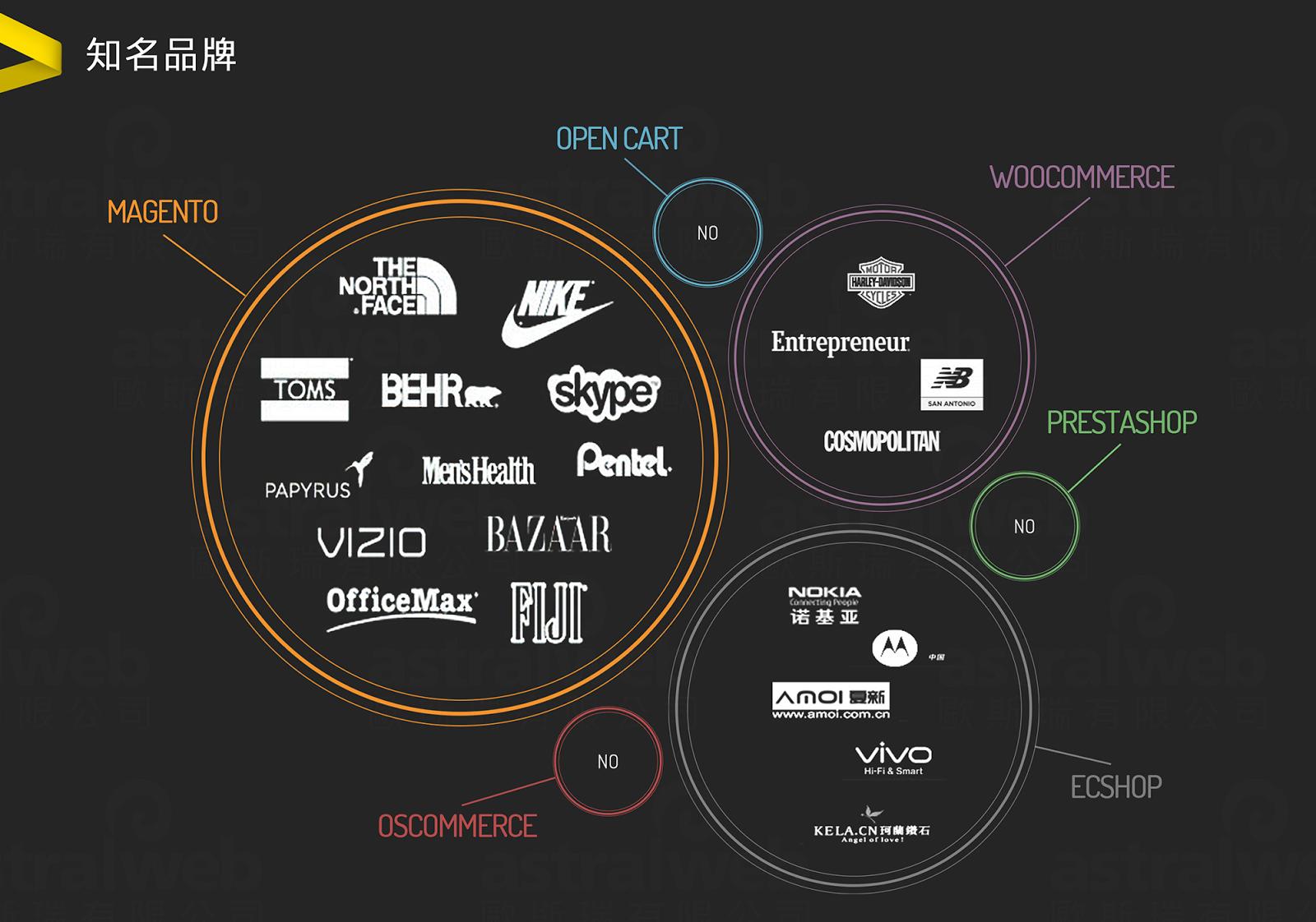 知名品牌愛用的電商平台