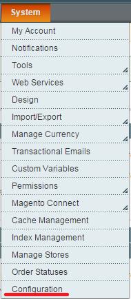 Magento更換logo教學-configuration