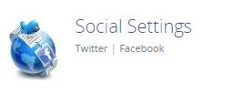 Social Settings