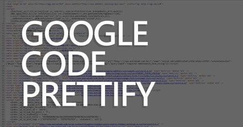 Google Code Prettify