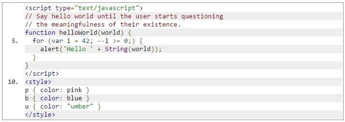 Google Code Prettify 語法上色工具