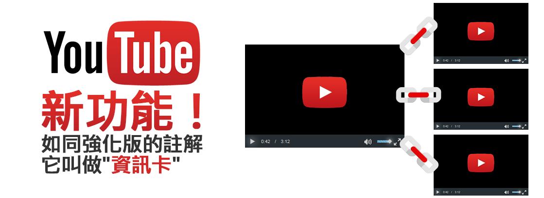 YouTube資訊卡