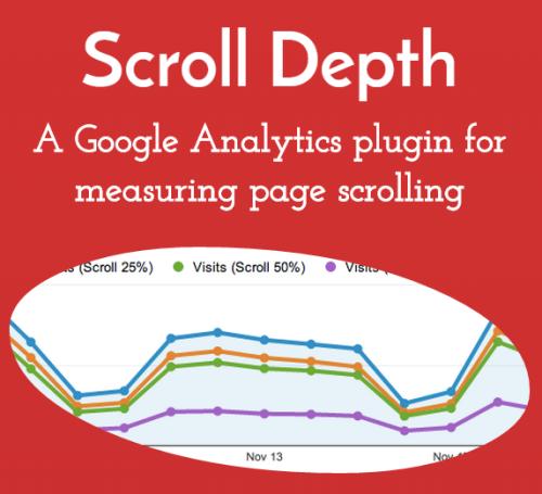利用jQuery Scroll Depth追蹤使用者的閱讀情形