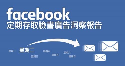 定期存取臉書廣告洞察報告