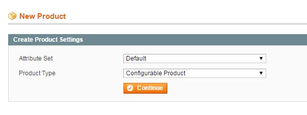 Magento設置可配置產品