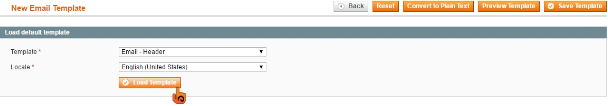 步驟三 Magento: 如何自訂交易郵件的Header及Footer