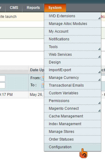 步驟五 Magento: 如何自訂交易郵件的Header及Footer