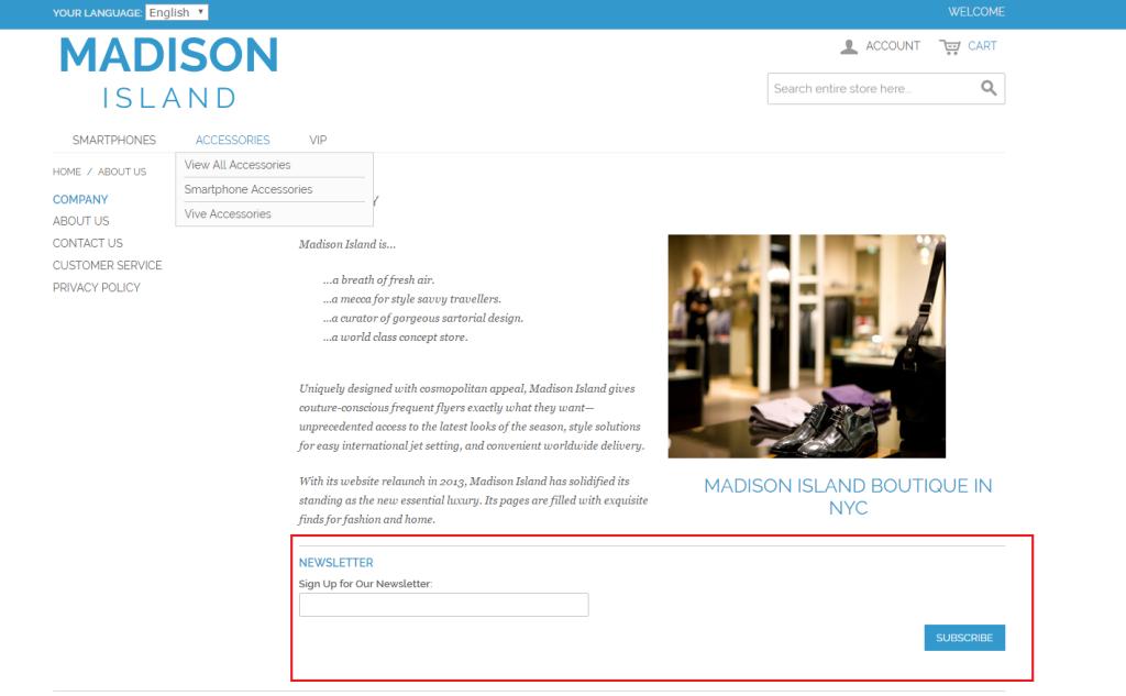 步驟六-Magento CMS Page 與 CMS Block 中的內容無法正常顯示