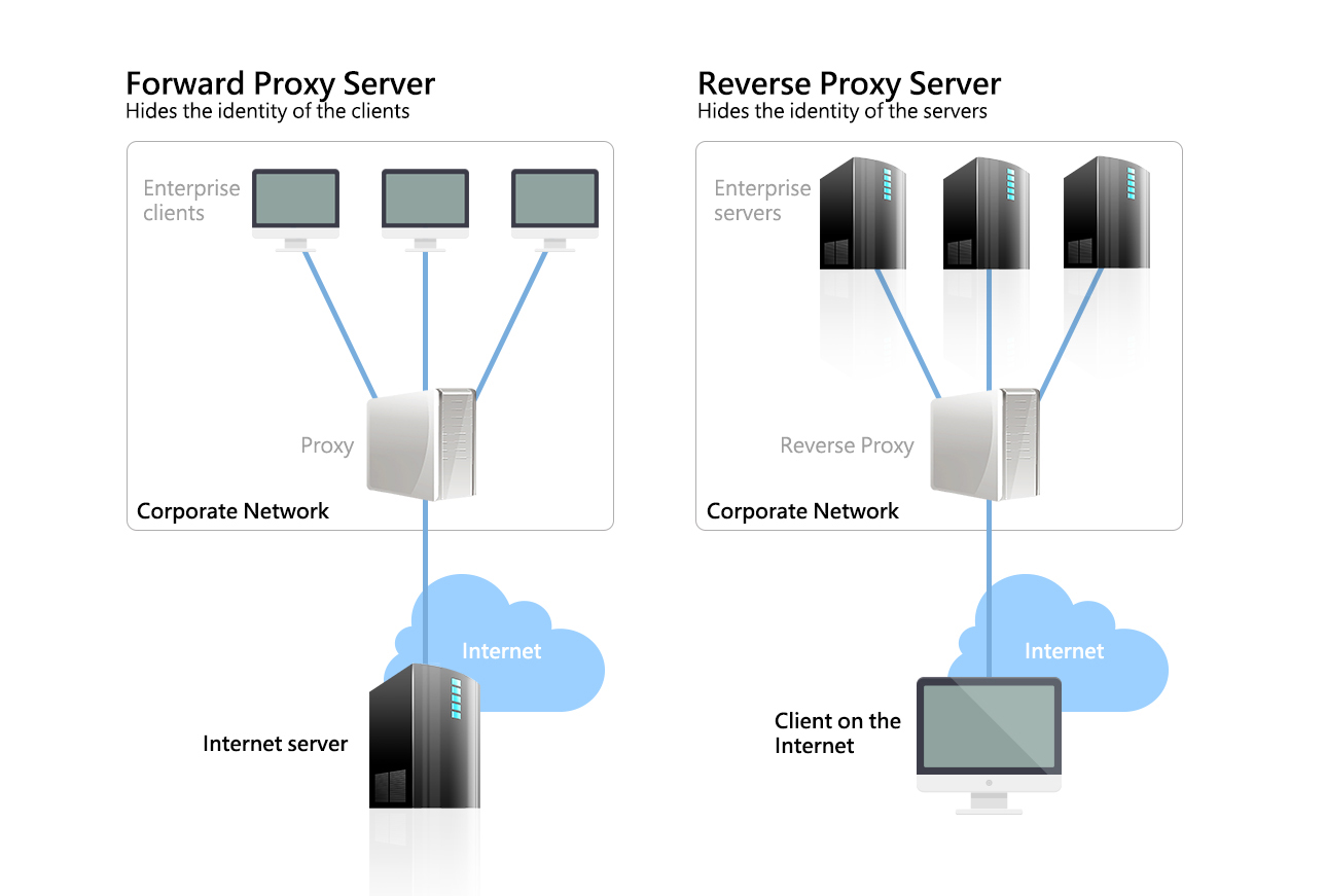 Proxy vs 反向 proxy