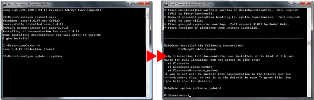 步驟四-如何使用sass開發專案