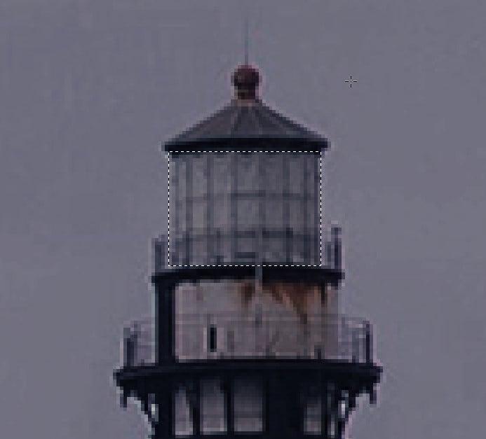 步驟五-Photoshop教學:【基礎篇】製作燈塔投射光效果