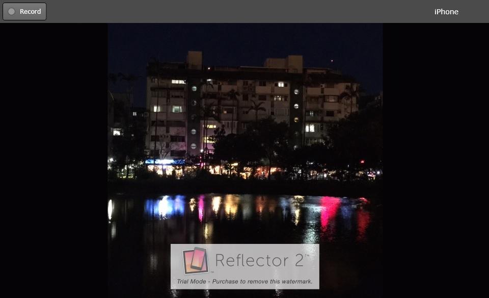 Wireless projection vs Reflector 2-06