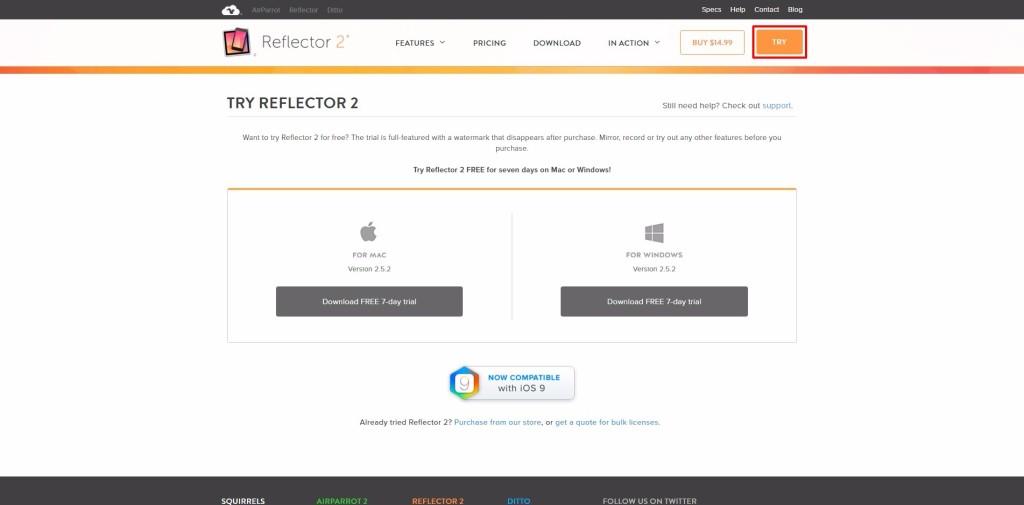 Wireless projection vs Reflector 2-17