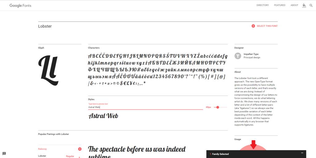 Google Fonts (2)
