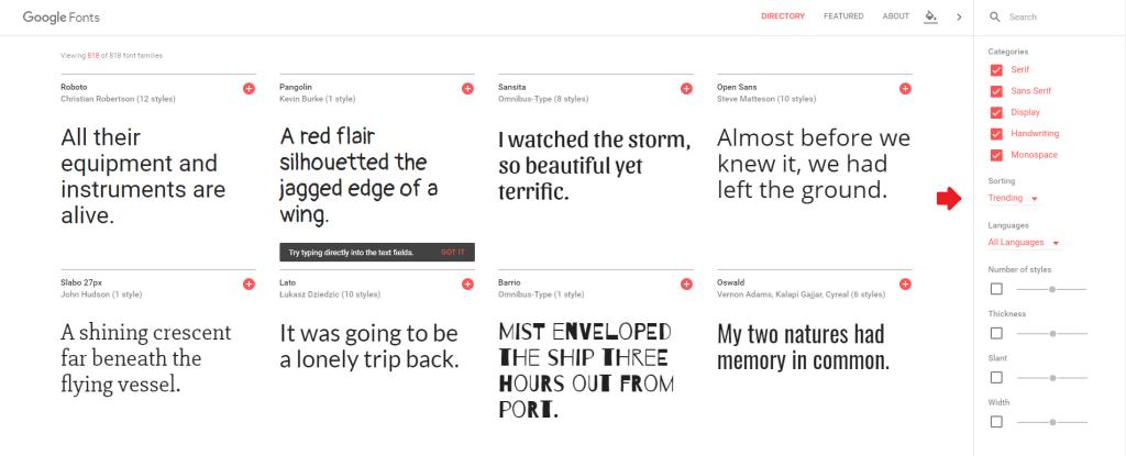 Google Fonts (3)
