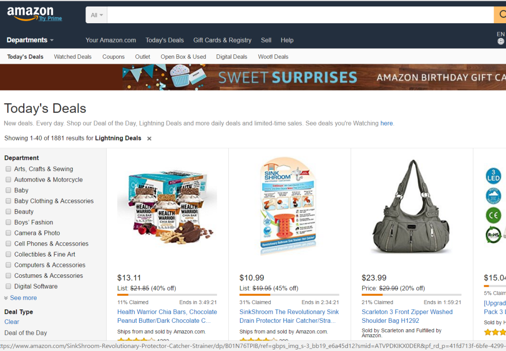 Amazon lightning deals (4)