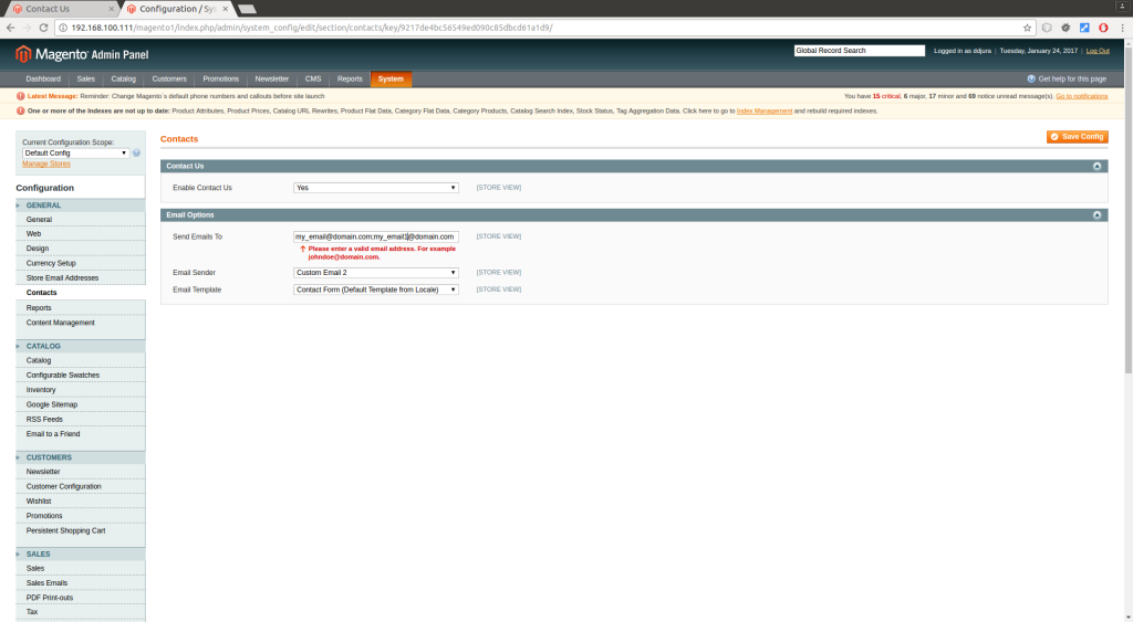multiple recipients Magento (2)