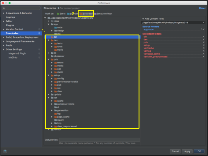 initialize Magento development environment on PhpStorm (1)