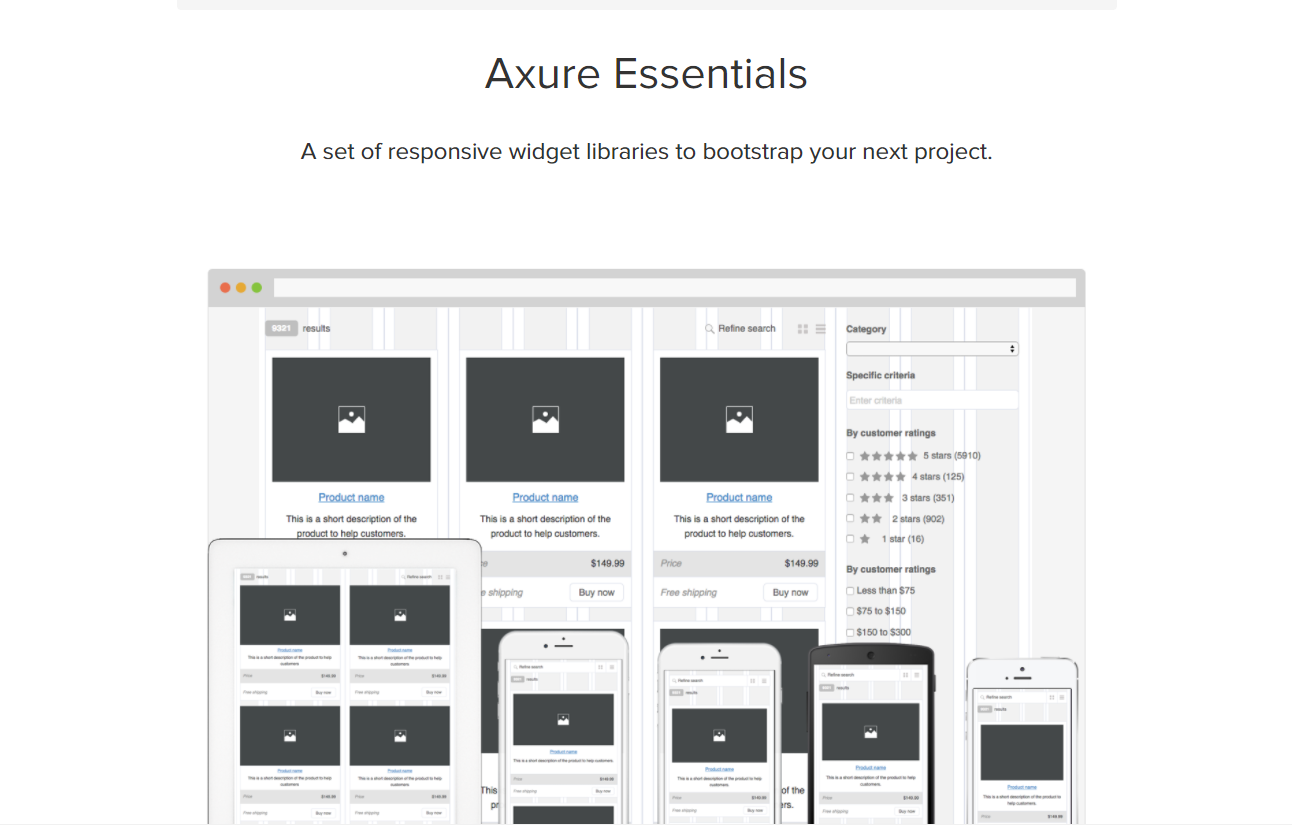 Axure RP 8 Widget Libraries (4)