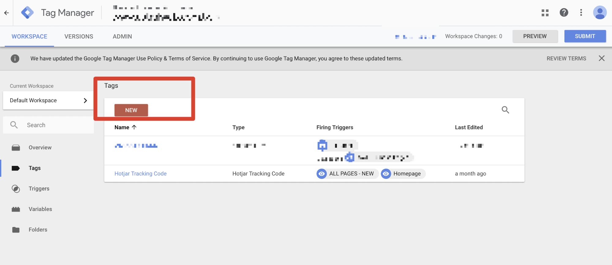 hotjar在wordpress magento gtm 網站上的設定 05