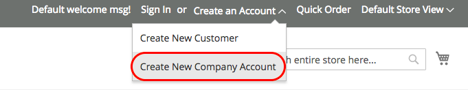 magento 商業版企業帳號建立 03